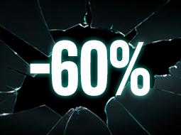 Productos al -60%