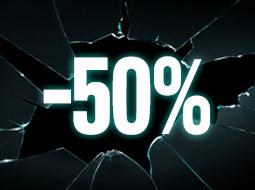 Productos al -50%