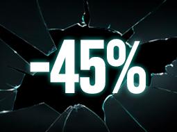 Productos al -45%