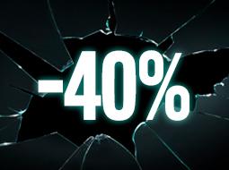 Productos al -40%