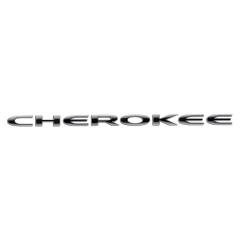 Sigla modelo Cherokee puerta delantera para Jeep Cherokee