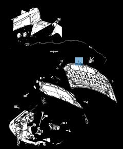 Capó para Lancia Voyager