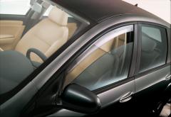 Deflectores antiturbulencia delanteros para ventanillas para Fiat Croma