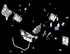 Filtro de aceite para Lancia Voyager