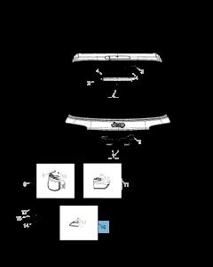 Faro antiniebla para Jeep Compass