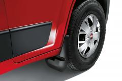Faldillas delanteras de goma para Fiat Professional Ducato