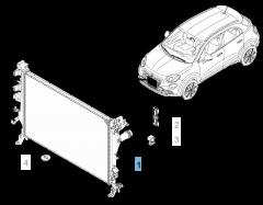 Radiador para refrigeración motor
