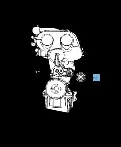 Tensor de correa fijo para Jeep Compass/Patriot
