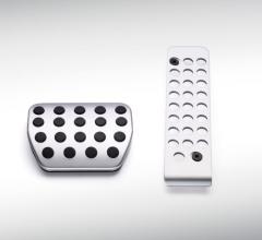 Conjunto de pedales deportivos en aluminio para cambio automático