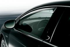 Deflectores antiturbulencia delanteros para ventanillas para Lancia Delta