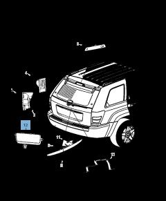 Luz antiniebla delantera para Jeep Grand Cherokee