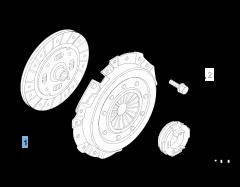 Kit embrague (plato y plato de presión) para Fiat y Fiat Professional