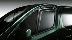 Deflectores de aire para ventanillas delanteras para Fiat Professional Talento