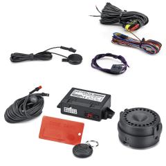 Sistema antirrobo de alarma volumétrica para Fiat 500