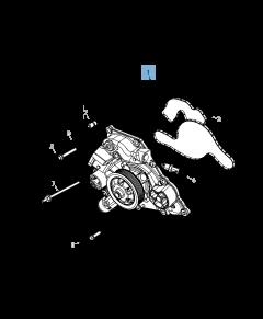 Bomba de agua para Jeep Grand Cherokee