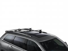 Barras portaequipaje de aluminio para techo para Jeep Grand Cherokee
