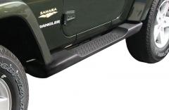 Kit de estriberas plataformas laterales bajo carrocería para Jeep Wrangler