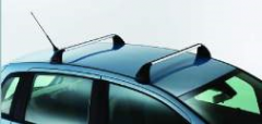 Barras portaobjetos de aluminio para techo para Fiat Idea
