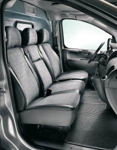 Funda de protección para asiento del conductor para Fiat Professional Scudo