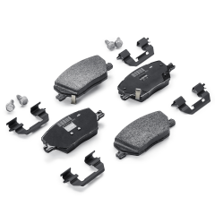 Pastilla de freno de disco delantero (set de 4 piezas) para Fiat Seicento