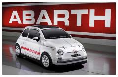 Funda para coche 500 Abarth vintage