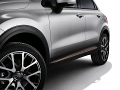 Acabados laterales bronce para puertas para Fiat 500X