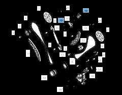 Tensor de correa regulable para cadena de distribución