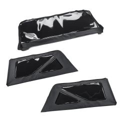 Kit de ventanillas traseras para techo de lona versión de 2 puertas