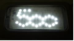 Lámparas led con logo 500