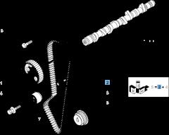 Correa de distribución con 114 dientes para Fiat Professional Ducato