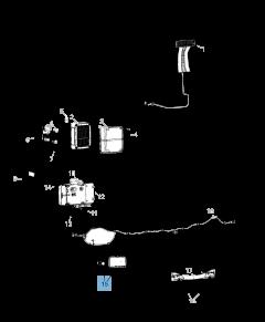 Faro antiniebla para Jeep Wrangler