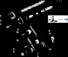 Kit de distribución (correa, tensor de correa fijo y regulable) - 3 piezas
