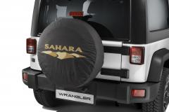 Funda para rueda de repuesto con logo Sahara