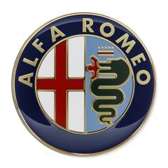 Insignia Alfa Romeo capó motor para Alfa Romeo