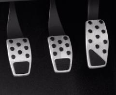 Conjunto de pedales deportivos de acero para Jeep Renegade