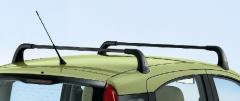 Barras portaobjetos de aluminio para techo para Fiat Panda