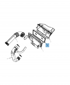 Filtro de aire del motor para Jeep Compass/Patriot
