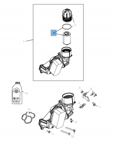 Filtro del aceite