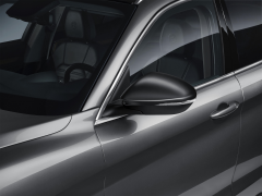 Carcasas para espejos retrovisores en miron opaco para Alfa Romeo Stelvio