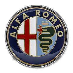 Insignia Alfa Romeo trasera para Alfa Romeo 159