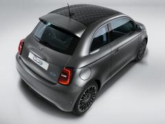 Vinilo de techo monograma Fiat