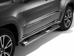 Estriberas cromadas plataformas laterales bajo carrocería para Jeep Grand Cherokee