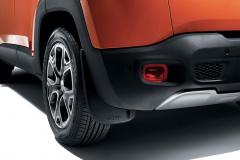 Faldillas traseras perfiladas para Jeep Renegade