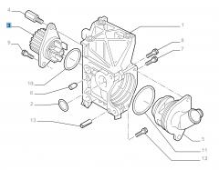 Bomba de agua para Fiat y Fiat Professional