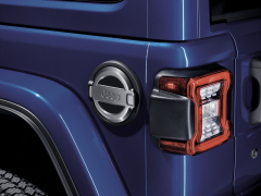 Fuel Door Chrome