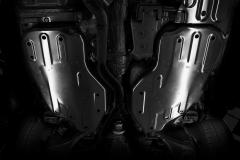Protección bajocarrocería para depósito de combustible para Jeep Grand Cherokee
