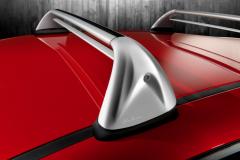 Barras portaobjetos de aluminio para techo para Alfa Romeo Mito