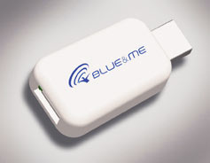Adaptador Media player Blue Me para iPod e iPhone