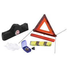Kit de emergencia con triángulo y chaleco reflectante para Fiat