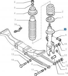 AMORTIGUADORES (Essential Parts)